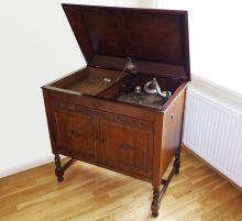 Gramaphone French polished
